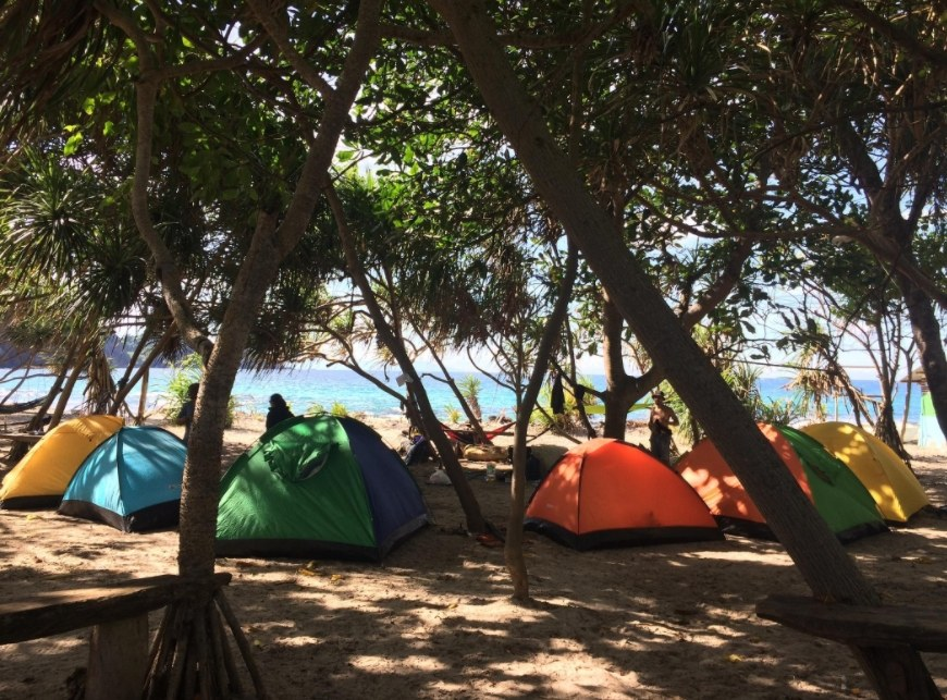 Pantai Jungwok, Camping Ground