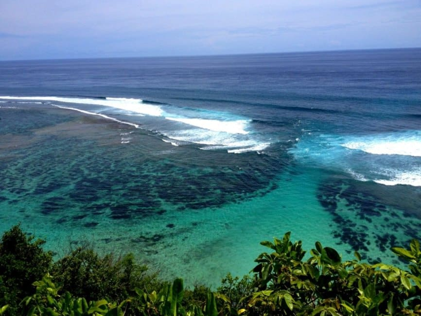 Pantai Green Bowl Bali, Private Beach Tenang nan Damai
