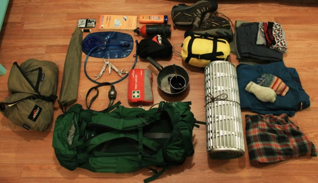 Peralatan Backpacker