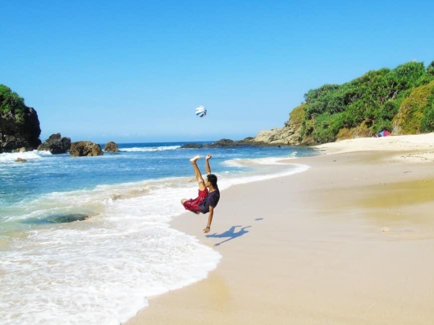 Pantai Jungwok, Spot Foto