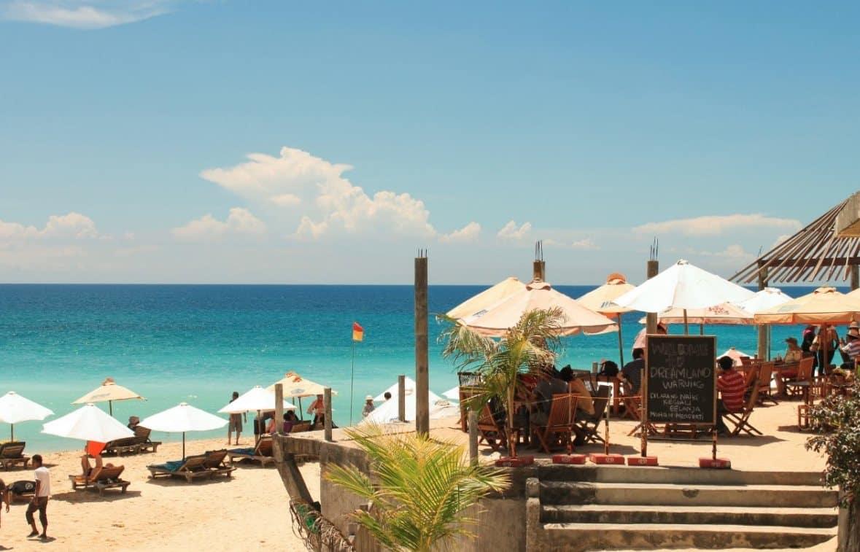 Pantai Dreamland Bali, Internasional