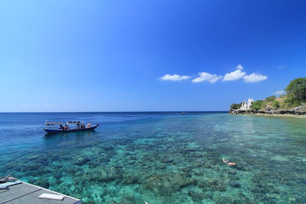 Snorkeling di Pantai Pulau Tabuhan