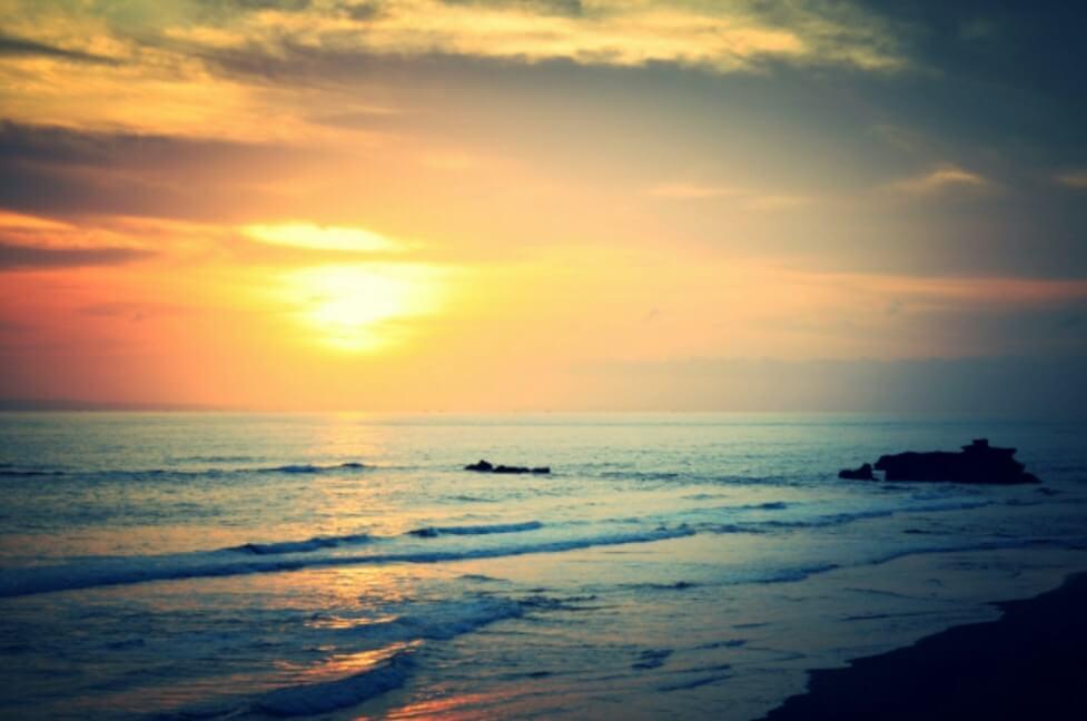 Sunset Pantai Balian