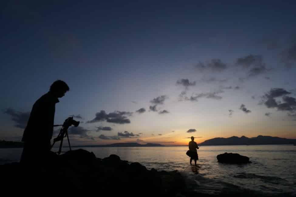Sunset Pantai Pulau Tabuhan