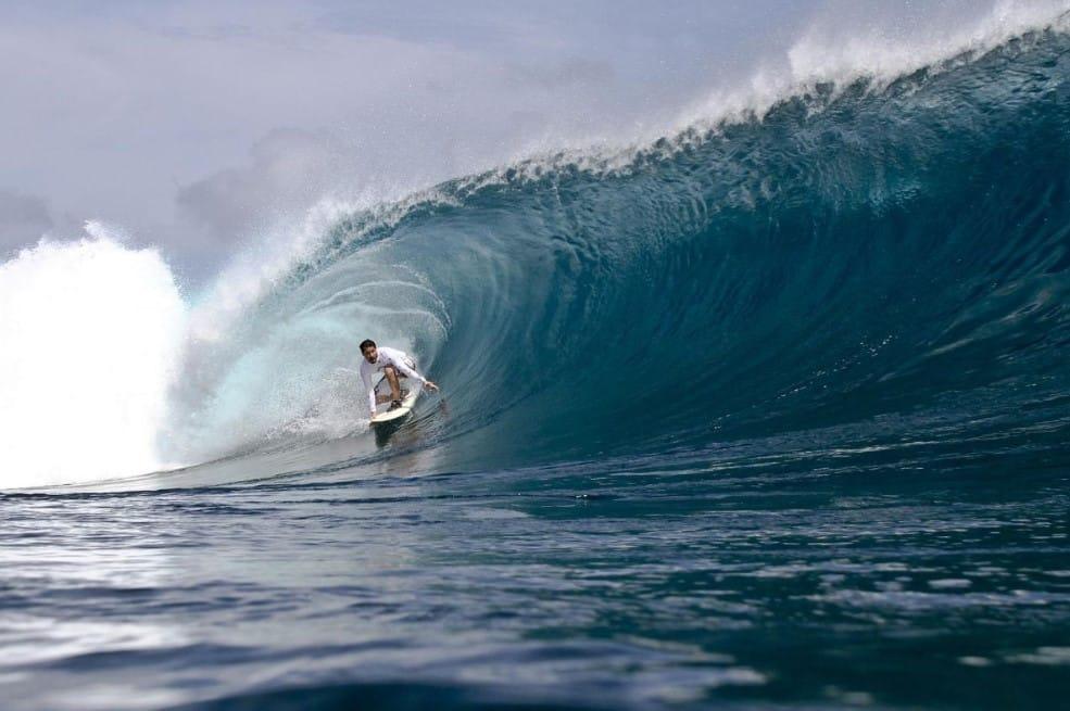 Surfing di Pantai Gradjagan