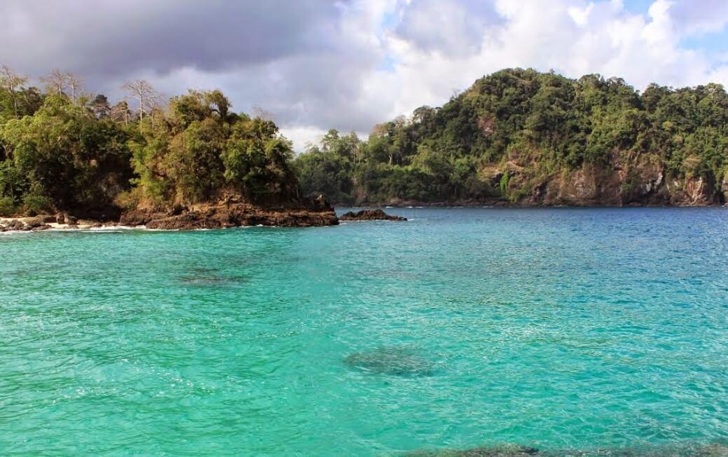 Warna Hijau Pantai Teluk Hijau