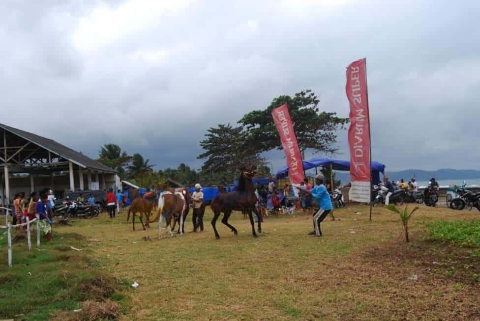 Pacuan Kuda Pantai Bojong Salawe