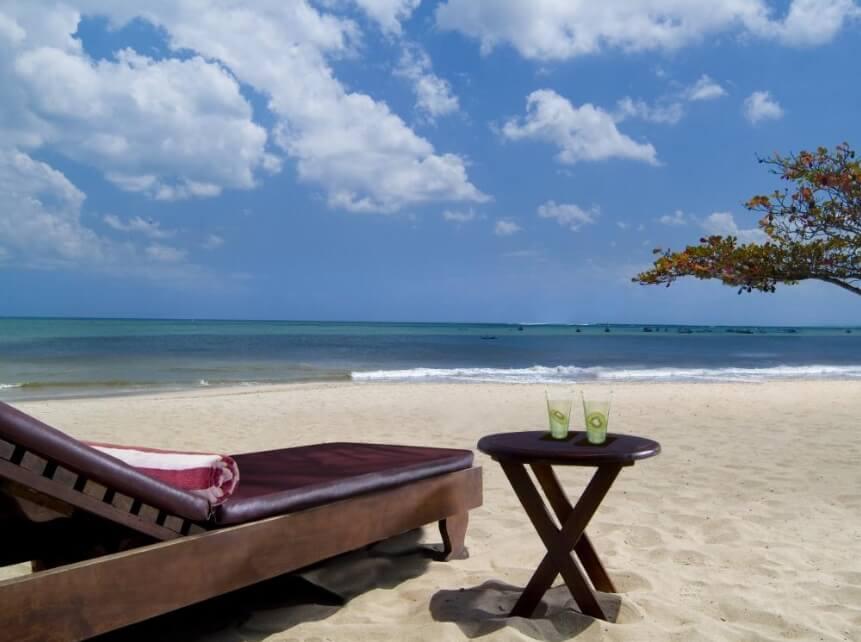 Pantai Jimbaran Lebih Tenang dibandingkan Kuta