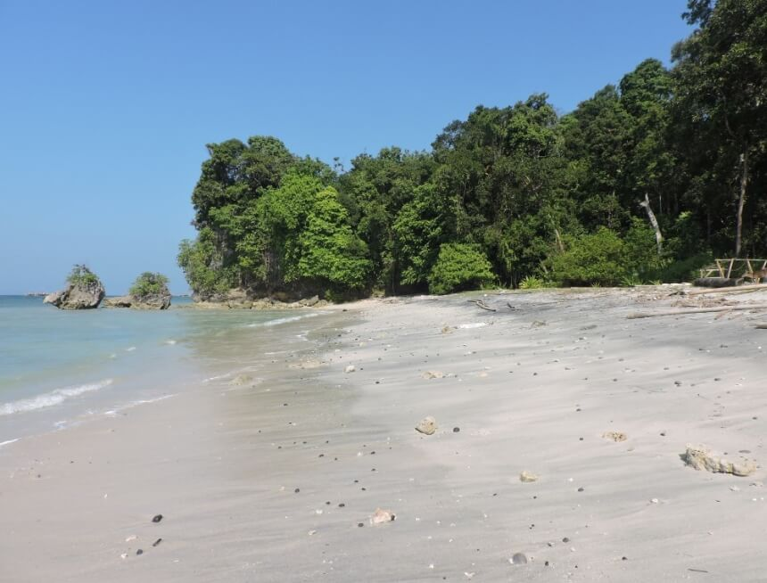 Pantai Pananjung dekat Cagar Alam