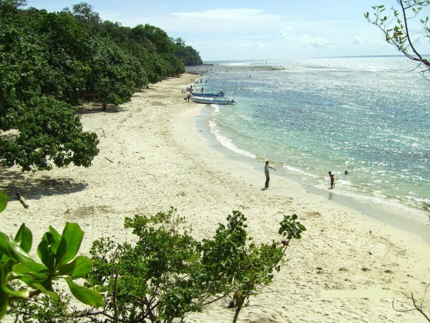 Peninggalan Sejarah Pantai Pananjung