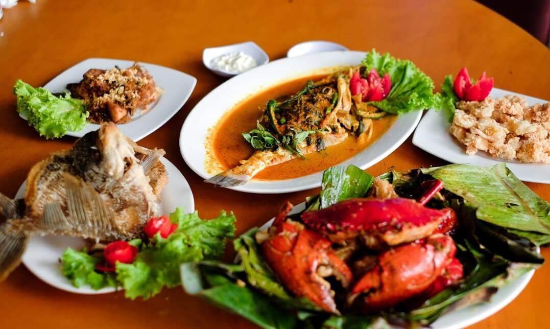 Seafood Pantai Cibuaya