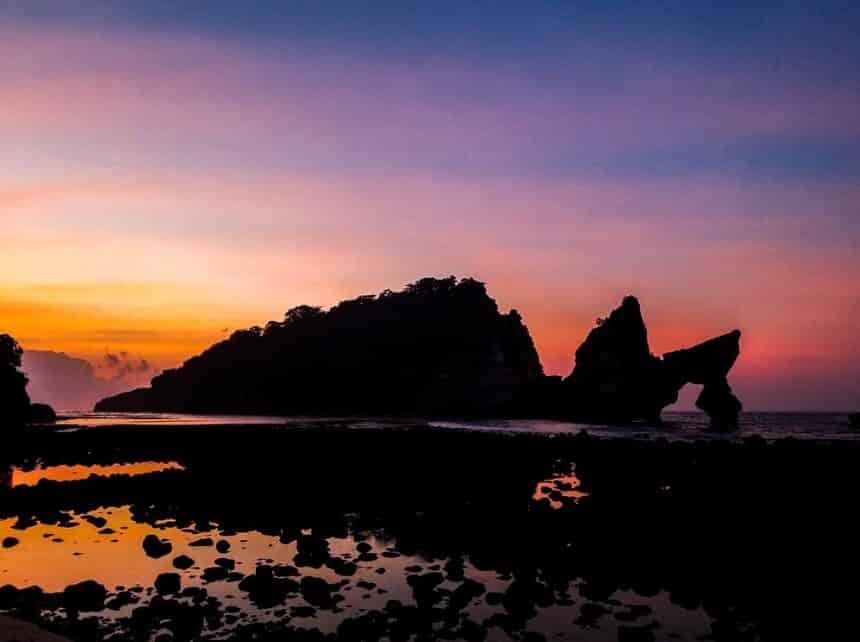 Sunset Pantai Atuh
