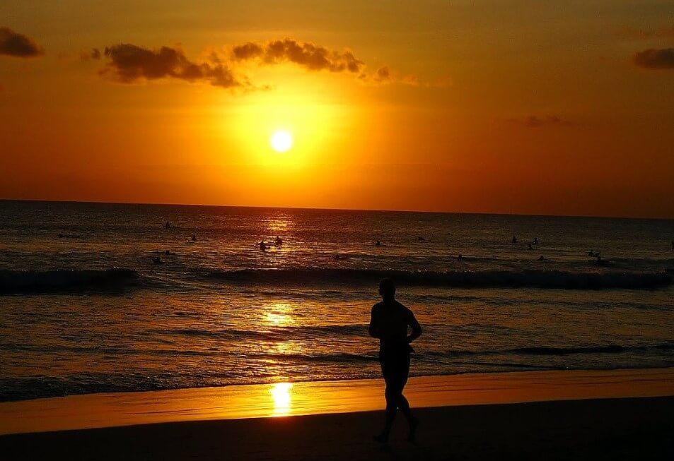 Sunset Pantai Cikaracak