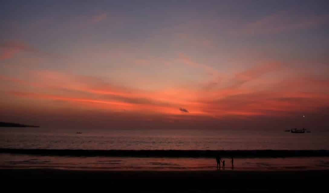 Sunset Pantai Jimbaran