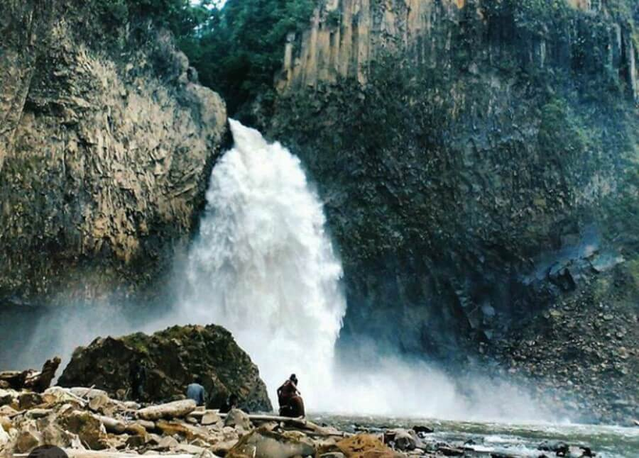 Air Terjun Turunan Bolon