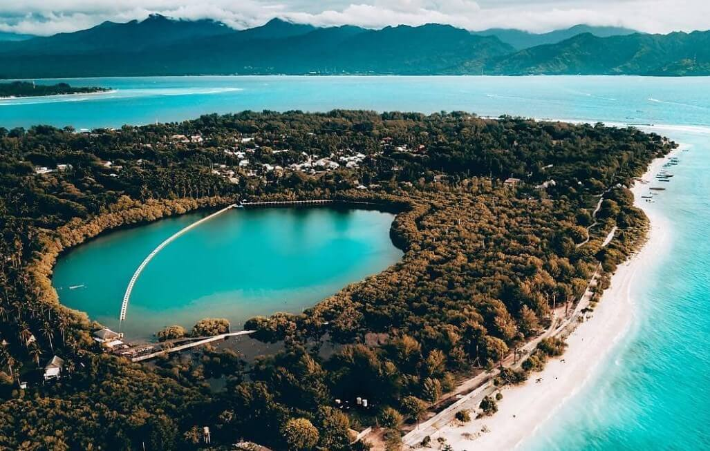 Danau Asin dan Hutan Magrove