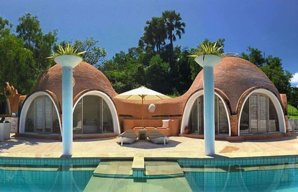 Fasilitas Hotel Mentigi Bay Dome Villas Lombok