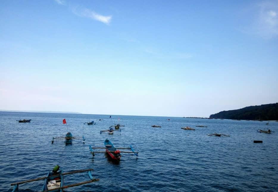 Panorama Khas Pantai Palatar Agung