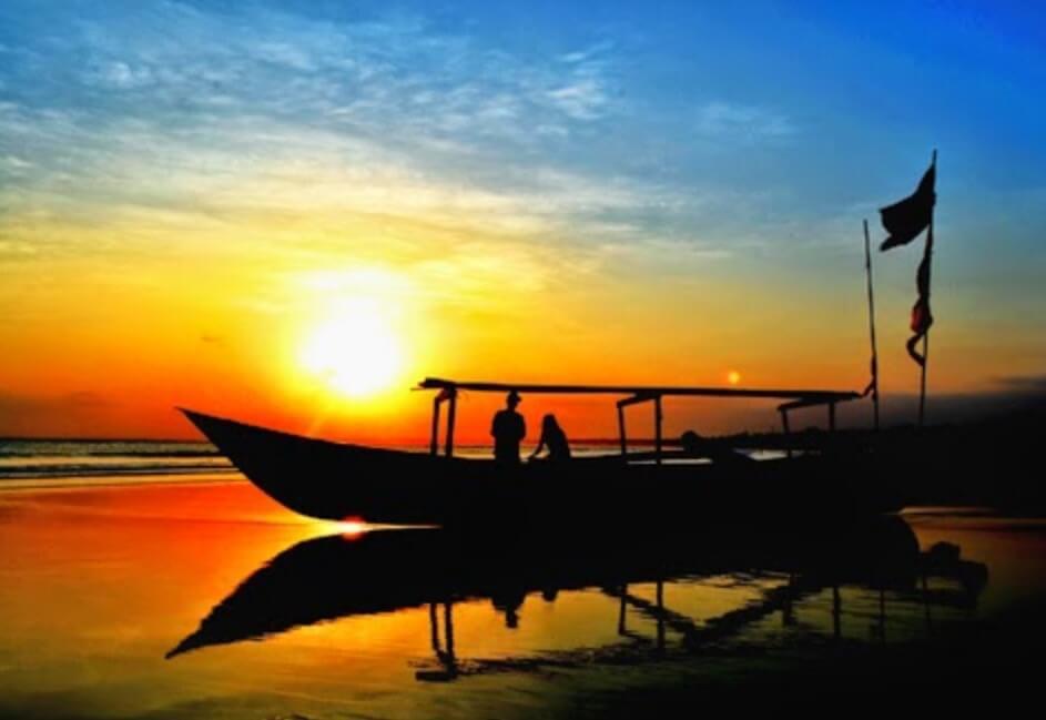 Sunset Pantai Palatar Agung