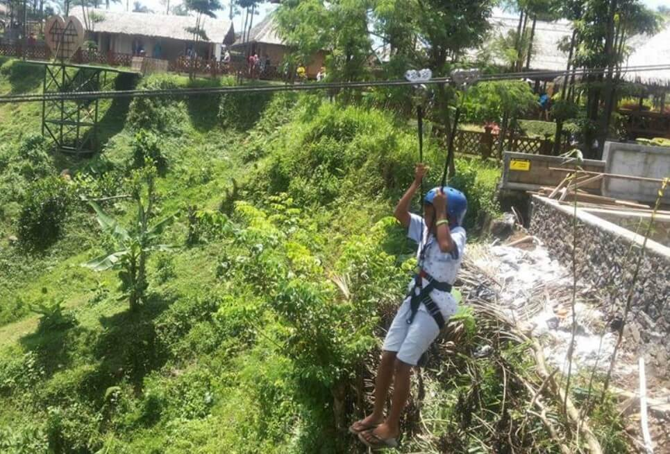 flying fox karang resik