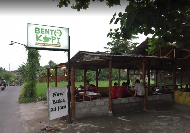 cafe di jogja Bento Kopi Nologaten