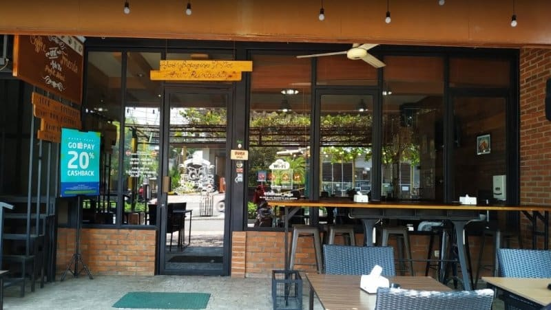 cafe di jogja Little Owl Cafe