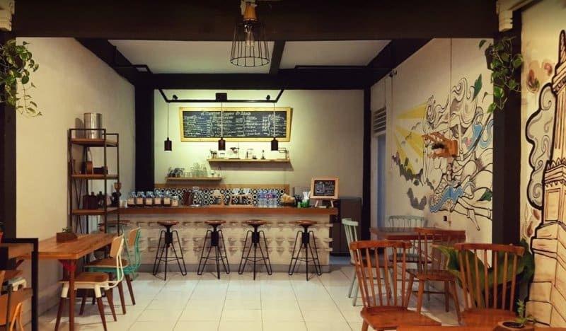 cafe di jogja d'Santos Coffee & Idea