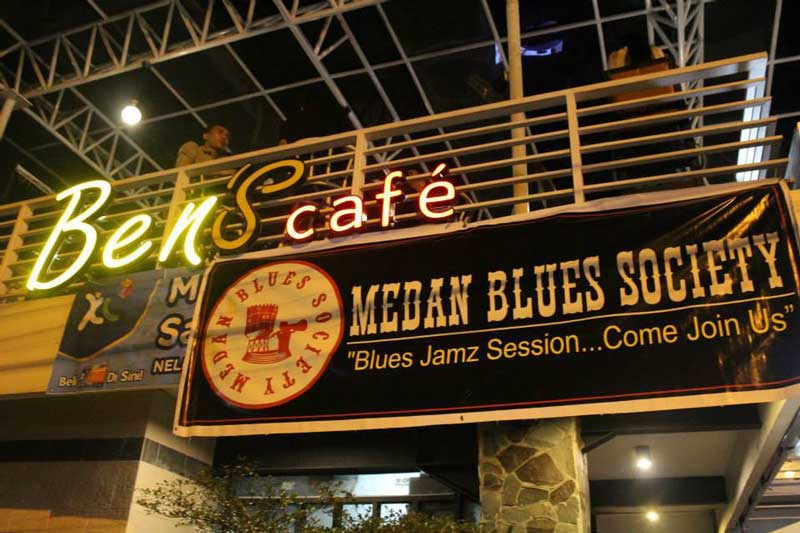 the garden cafe di medan