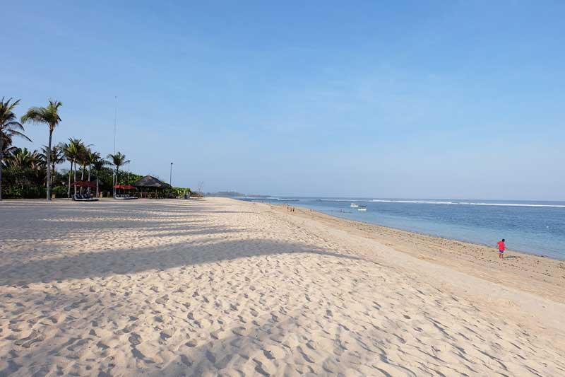 lokasi pantai geger bali indonesia