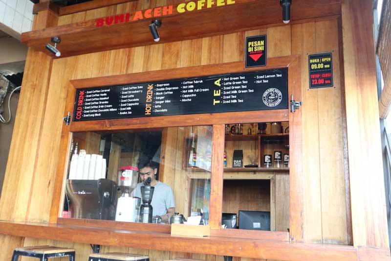 cafe di aceh bagus banget