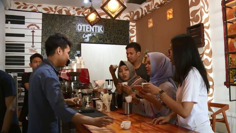 cafe baru kendari