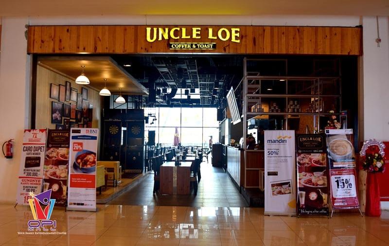 cafe di palembang ikon uncle loe