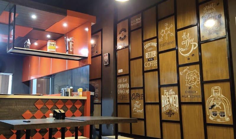 cafe orange payakumbuh