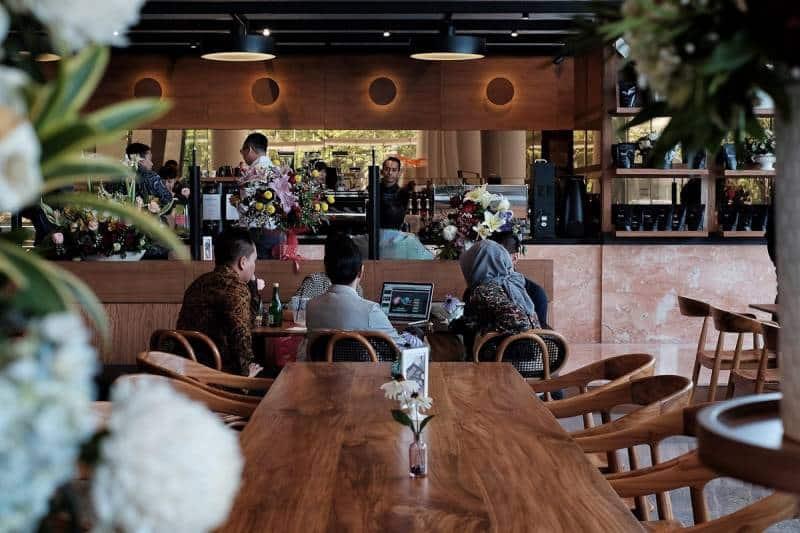 cafe di jakarta utara yang unik