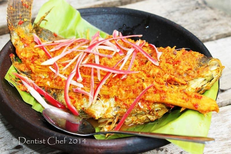 makanan khas sumatera utara itak pul pul