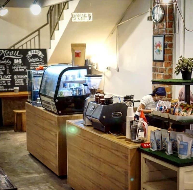 cafe instagramable di galaxy bekasi