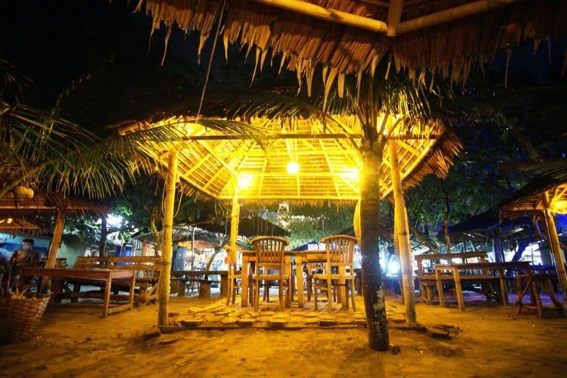 bamboo cafe pangandaran