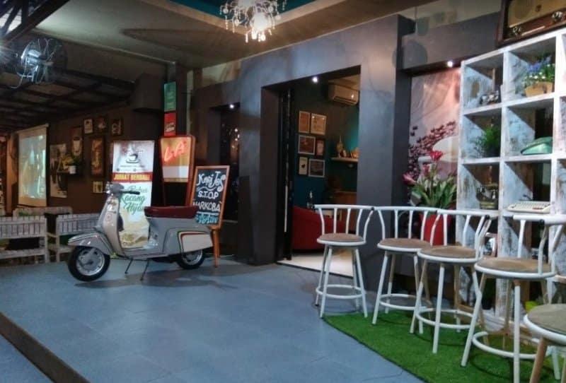 cafe di palangkaraya paling hits