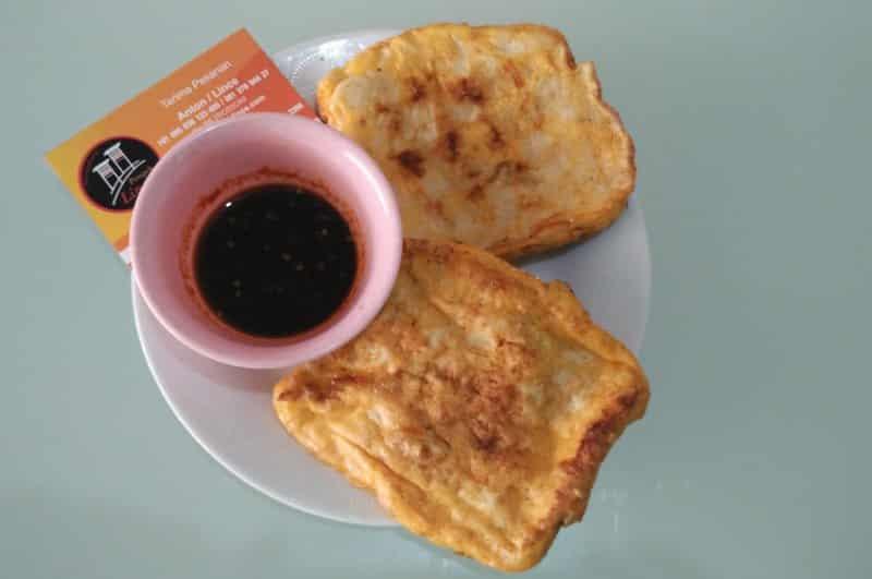 contoh makanan pembuka khas palembang