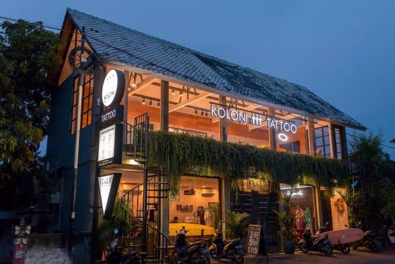 Cafe di Canggu ternyaman