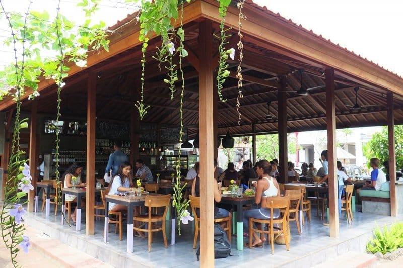 Cafe di Canggu paling nyaman