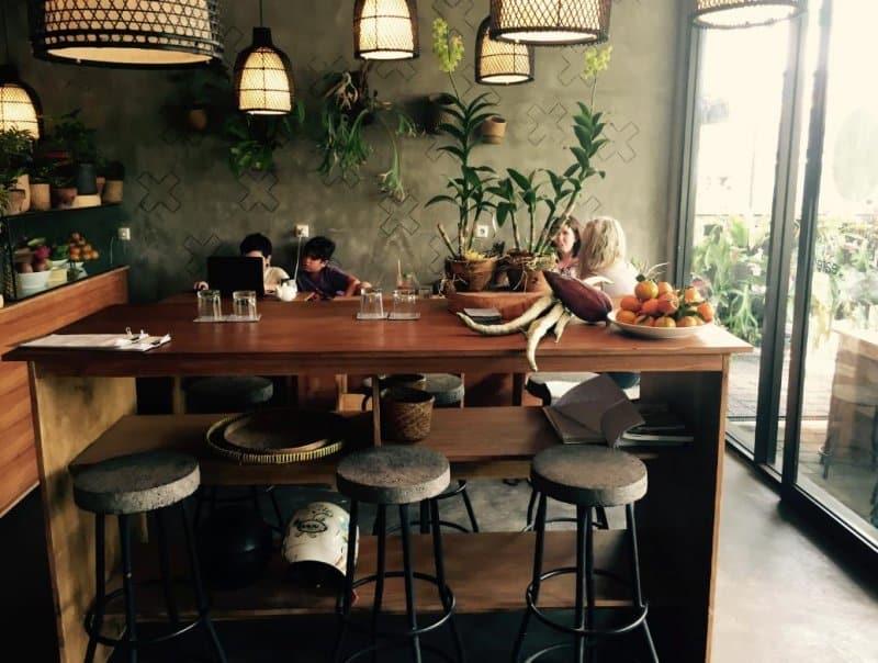 Cafe di Canggu yang nyaman