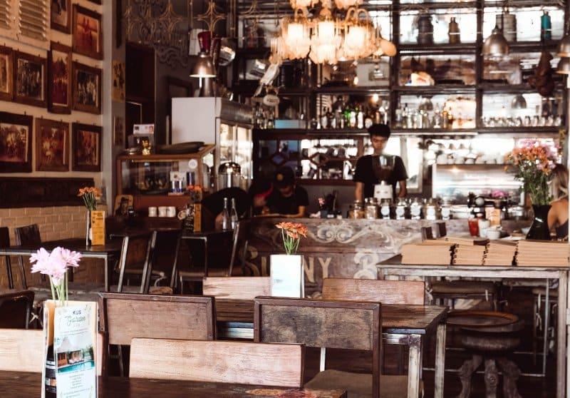 Cafe di Canggu ramai