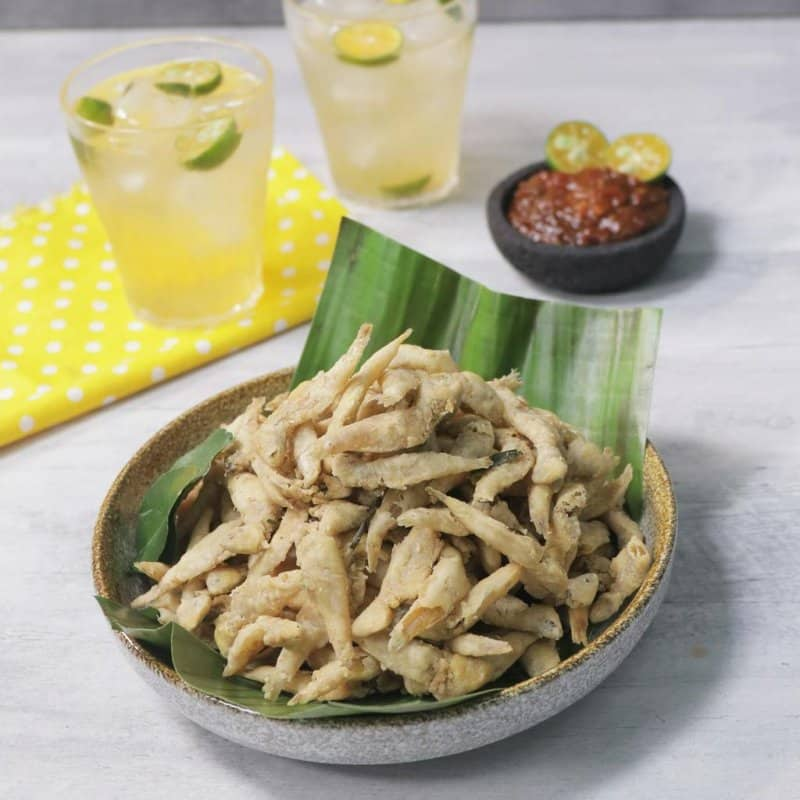 makanan khas bangka belitung mie bangka