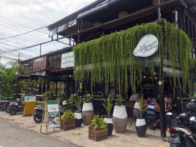 Cafe di Canggu nyaman