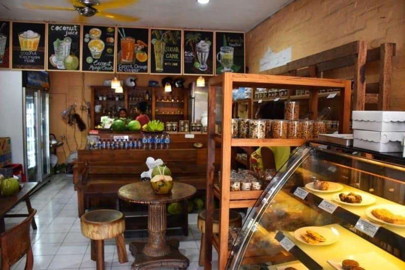 Cafe di Ubud asik