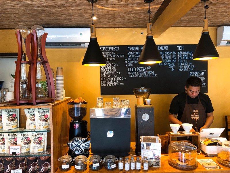 Cafe di Ubud nyaman