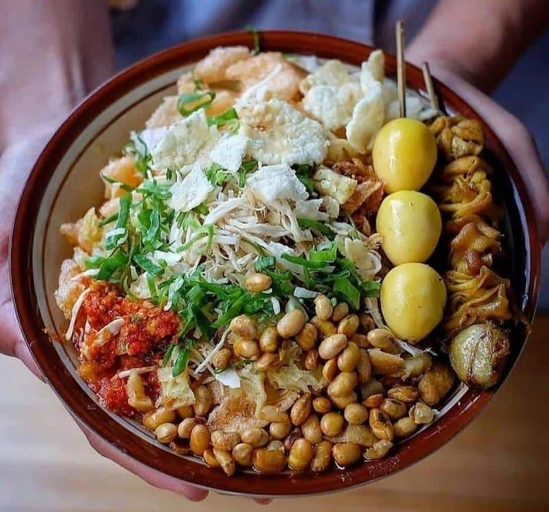 makanan khas daerah sukabumi bubur
