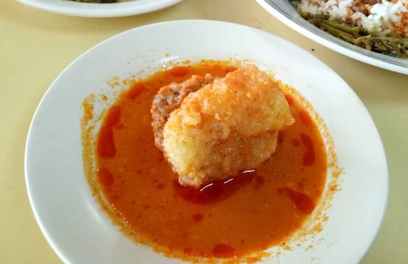 Makanan Khas Minangkabau Sumatera di boyolali