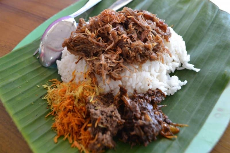makanan khas gresik jatim yg terbuat dari campuran nasi dan daging sapi